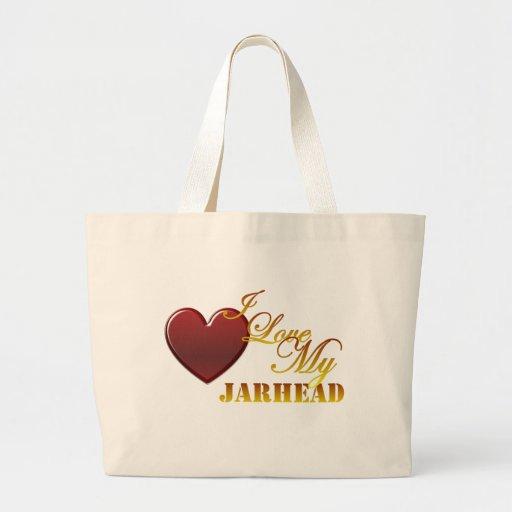 Amo mi Jarhead 1 Bolsa De Mano