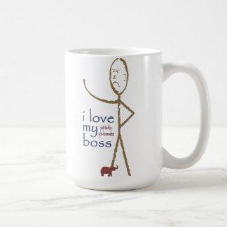 """""""Amo mi…. jefe """" Taza De Café"""