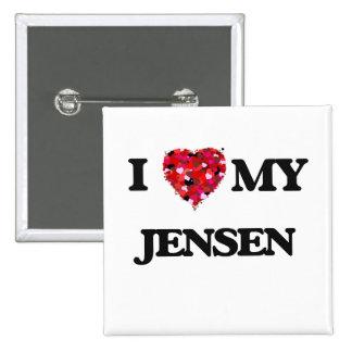 Amo MI Jensen Pin Cuadrada 5 Cm