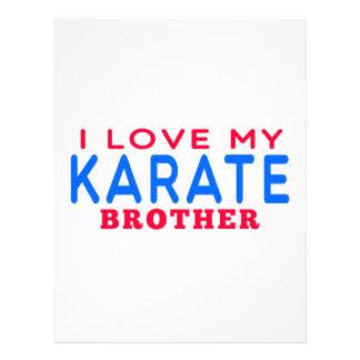 Amo mi karate Brother Membrete Personalizado