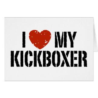 Amo mi Kickboxer Tarjetas