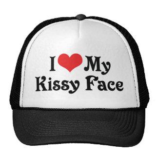 Amo mi Kissy hago frente Gorras De Camionero
