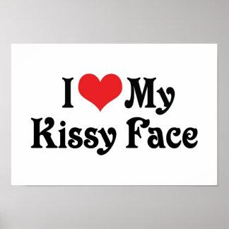 Amo mi Kissy hago frente Póster