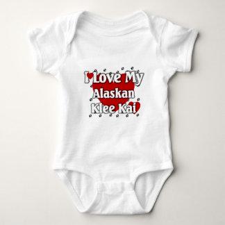 Amo mi Klee de Alaska Kai Body Para Bebé