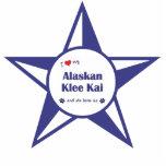 Amo mi Klee de Alaska Kai (el perro femenino) Esculturas Fotograficas