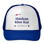 Amo mi Klee de Alaska Kai (el perro masculino) Gorro