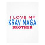 Amo mi Krav Maga Brother Plantillas De Membrete