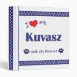 Amo mi Kuvasz (el perro femenino)