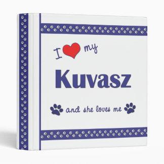 """Amo mi Kuvasz (el perro femenino) Carpeta 1"""""""