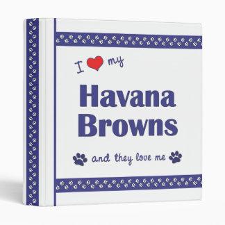 Amo mi La Habana bronceo (los gatos múltiples)