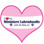 Amo mi Labradoodle miniatura (el perro femenino) Esculturas Fotograficas