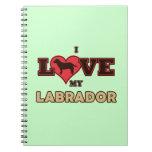 Amo mi Labrador Cuadernos