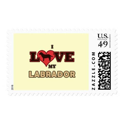 Amo mi Labrador Franqueo