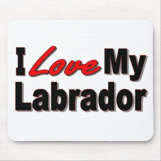 Amo mi Labrador Mousepad