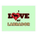 Amo mi Labrador Postal