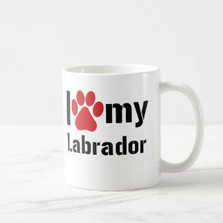 Amo mi Labrador Taza