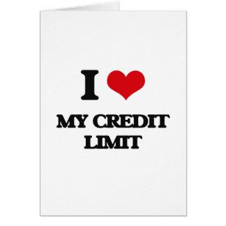 Amo mi límite crediticio tarjeta