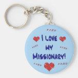 Amo mi llavero del misionario