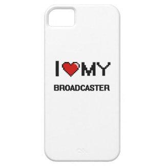 Amo mi locutor iPhone 5 Case-Mate carcasas
