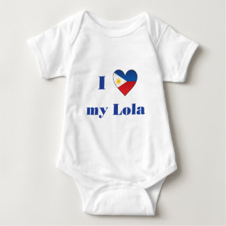 Amo mi Lola1 Mameluco De Bebé