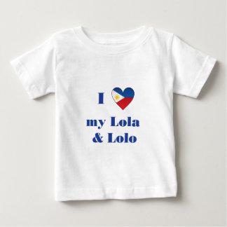 Amo mi Lola y Lolo1 Remeras