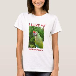 AMO MI Macaw militar Playera