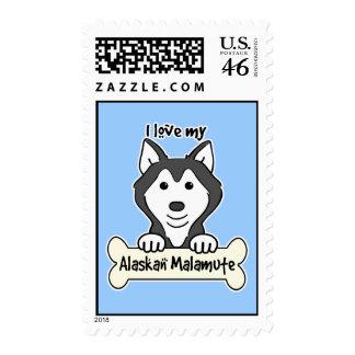 Amo mi Malamute de Alaska