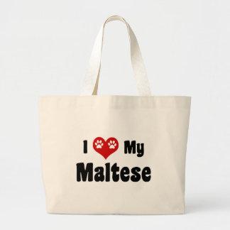 Amo mi maltés bolsas