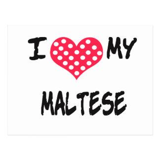 Amo mi maltés postal