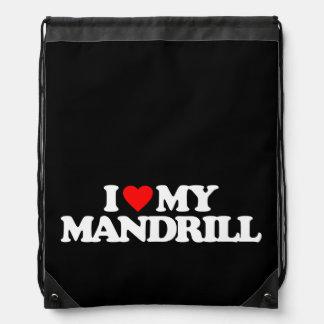 AMO MI MANDRILL MOCHILA