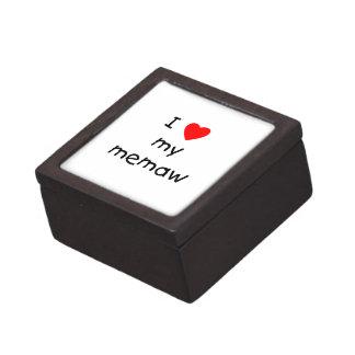 Amo mi memaw cajas de recuerdo de calidad
