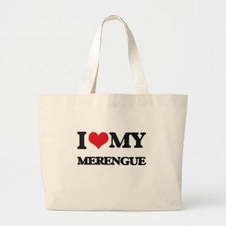 Amo mi MERENGUE Bolsa De Mano