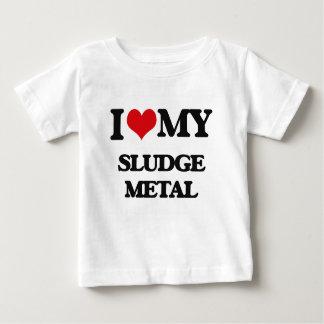 Amo mi METAL del BARRO Camisetas