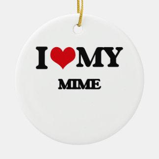 Amo mi Mime Adorno Para Reyes