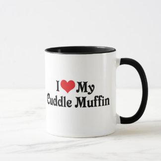 Amo mi mollete de la abrazo taza