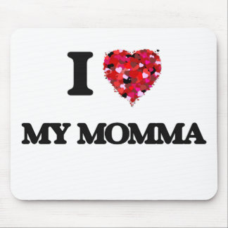Amo mi Momma Tapetes De Ratón