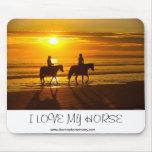 Amo mi mousepad del caballo hoy alfombrilla de ratón