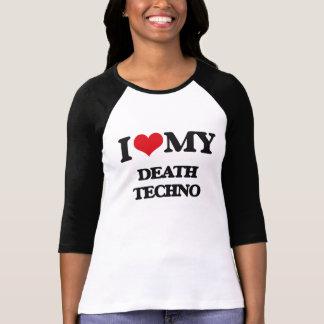Amo mi MUERTE TECHNO Camiseta