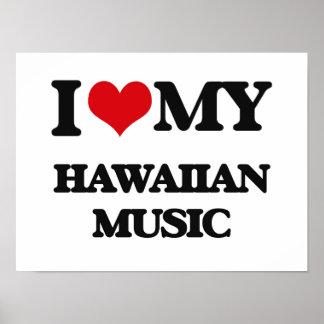 Amo mi MÚSICA HAWAIANA Impresiones