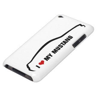 Amo mi mustango iPod Case-Mate cárcasas