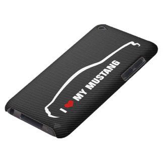 Amo mi mustango Case-Mate iPod touch coberturas
