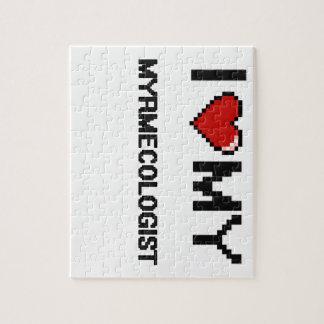 Amo mi Myrmecologist Rompecabeza Con Fotos