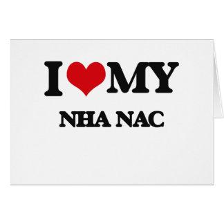 Amo mi NAC de NHA Tarjeton