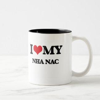 Amo mi NAC de NHA Tazas De Café