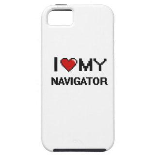 Amo mi navegador iPhone 5 carcasa