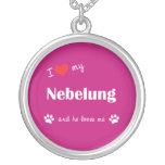 Amo mi Nebelung (el gato masculino) Joyeria Personalizada