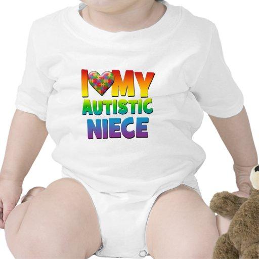 Amo mi Niece.png autístico Traje De Bebé