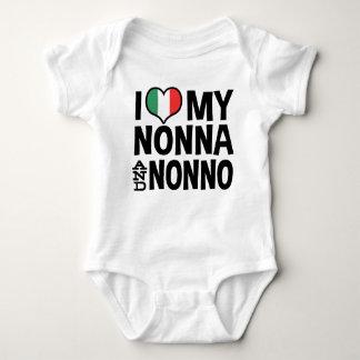 Amo mi Nonna y Nonno Body Para Bebé