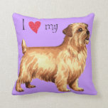 Amo mi Norfolk Terrier Almohada