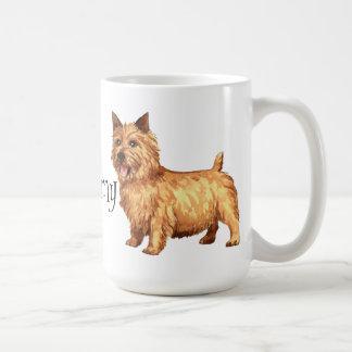 Amo mi Norwich Terrier Taza Clásica